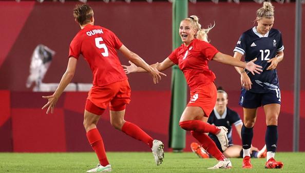 ฟุตบอลหญิง โอลิมปิก 2020 รอบ 8 ทีมสุดท้าย : แคนาดา พบ บราซิล